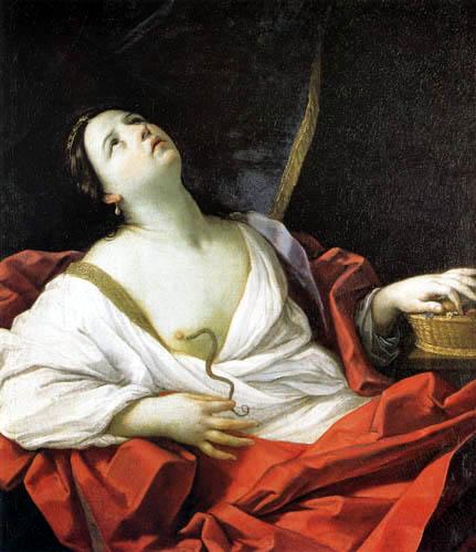 el_suicidio_de_cleopatra Guido Reni